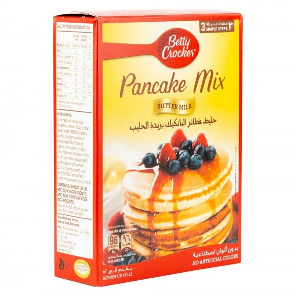 Betty Crocker Pancake Buttermilk Mix 37Oz