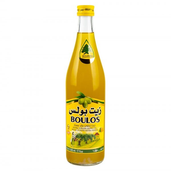 Boulos Olive Oil Extra Virgin 500Ml
