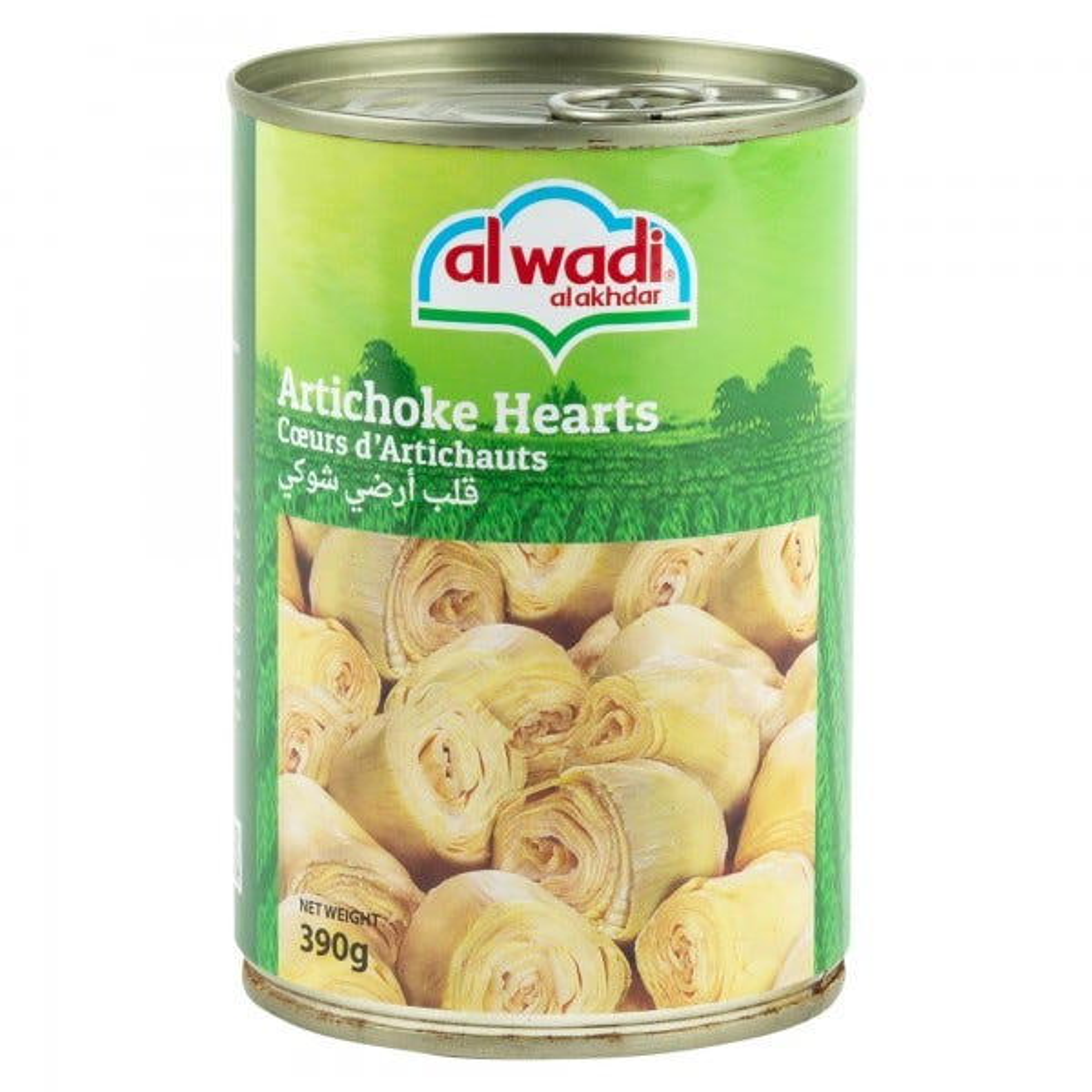 Al Wadi Al Akhdar Artichoke Hearts Canned 390G