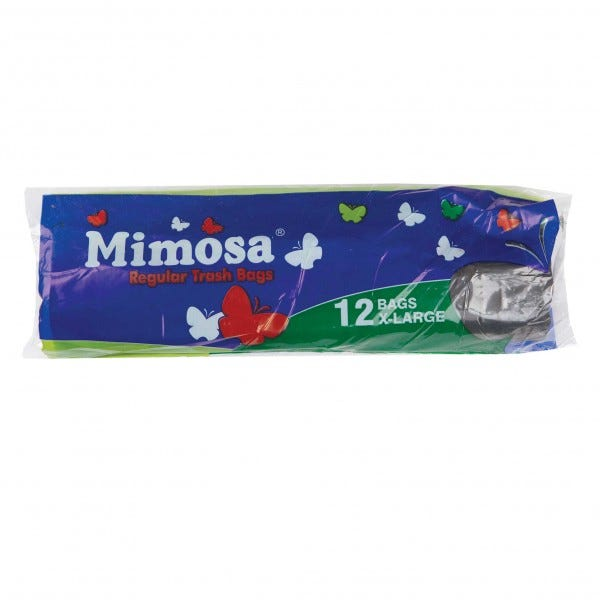 Mimosa Trash Bags X-Large 12 Pieces