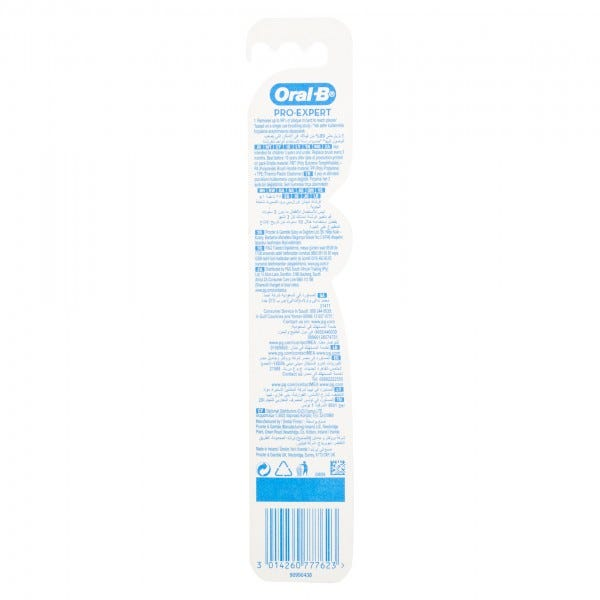 Oral-B Pro-Expert Toothbrush With Soft Bristles