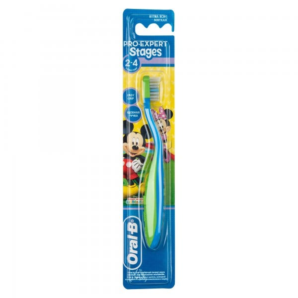 BABY TOOTH BRUSH 2-4