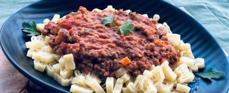 Nutritious Spaghetti Bolognese